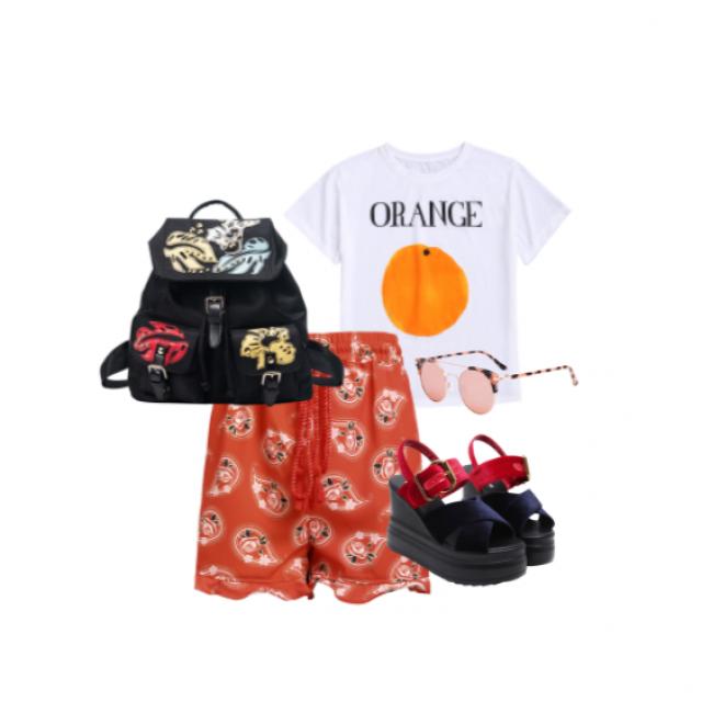 #gotolook #4thofjuly #julyblue #floralprints #ootd #summertrip #partydress #flatlay #dressforidol #shoeslover #flatlay
