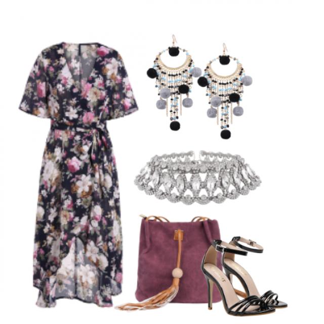 //Summer days//#dressforidol#nailart#gotolook