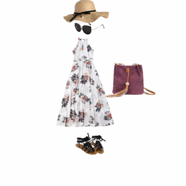 this looks like a fun outfit for a hanging out with friend in a sunny day
