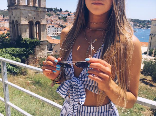 #summertrip while visiting Croatia