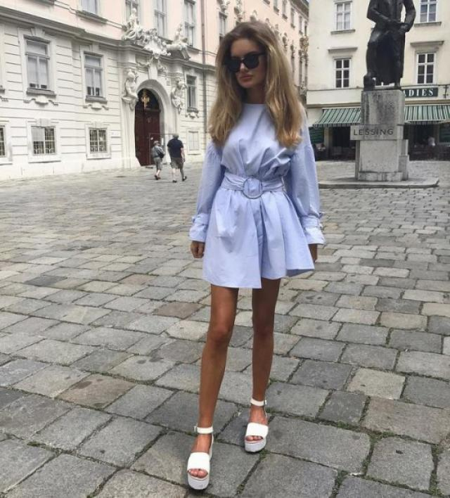 Cute summer dress #fashion #style #trend #ootd #outfit #summer
