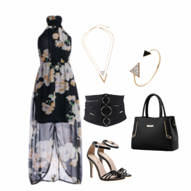 #strappy heels #Floral