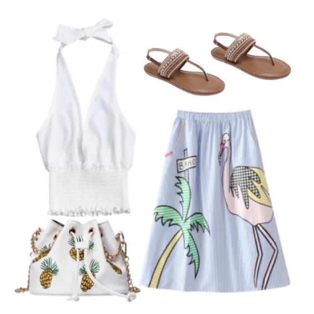 #summer #fashion #trendy #chic