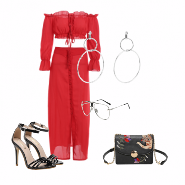 a perfect outfit if your going on out to dinner/date or to a party