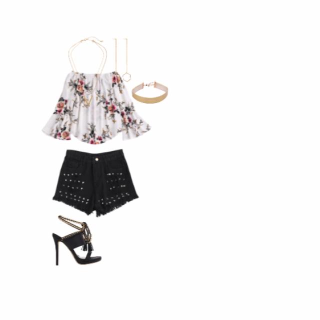#rose #black #white #gold #summertrip