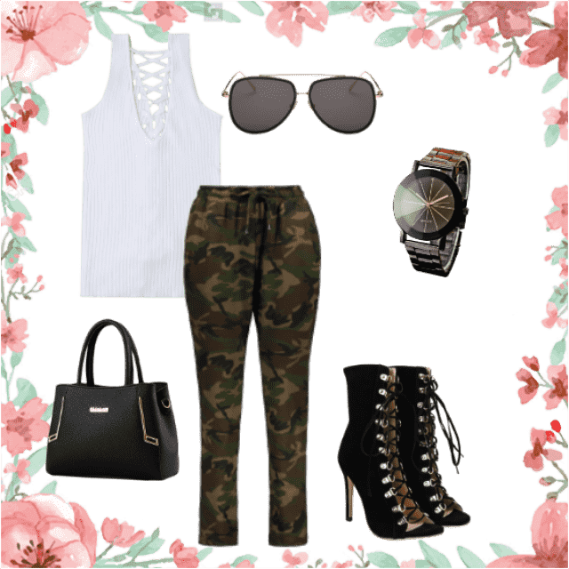 for when you want that sporty feel with a little mix of luxe