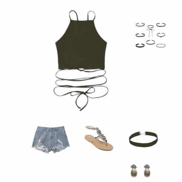 estilo para un dia de calor