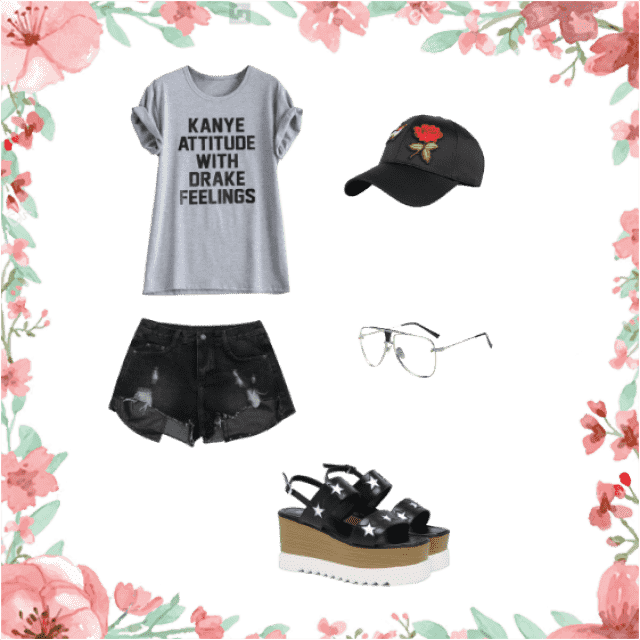 IF YOU ARE A CHILL GIRL THIS IS FOR YOU!! STREET CASUAL CHIC!! COMMENT IF YOU LIKE IT!!