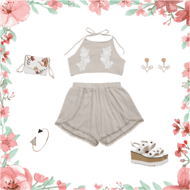 A cute outfit for a spring day