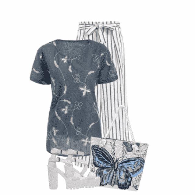 #summer #striped #print
