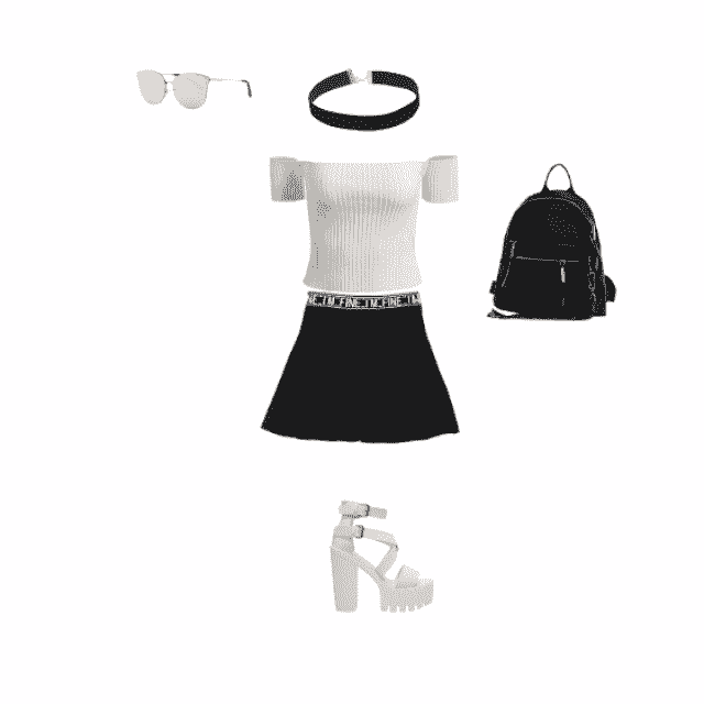 classy sportif outfit