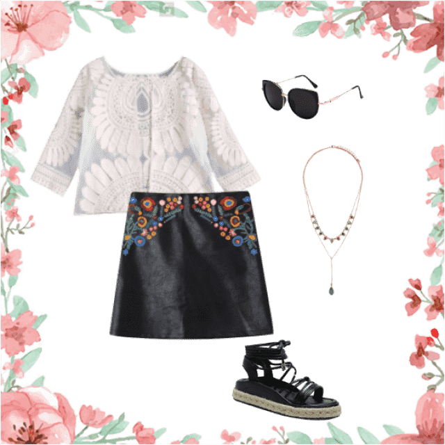 a very pretty outfit