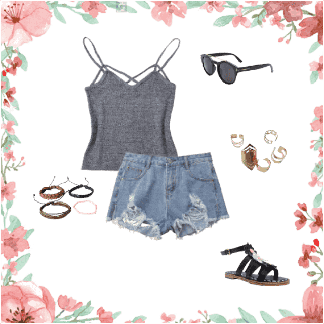 A super cute outfit for casual days