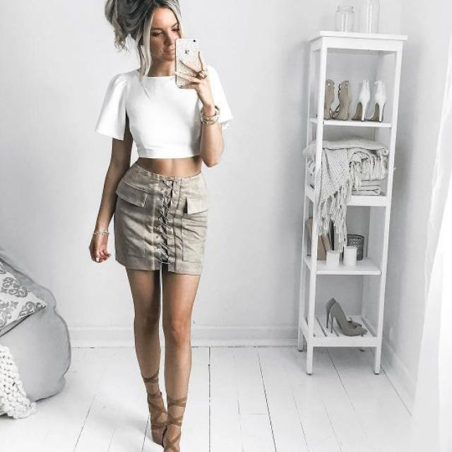 Beautiful skirt! do you like it? let me know in the comments!❤️❤️❤️❤️❤️❤️❤️❤️❤️                       …