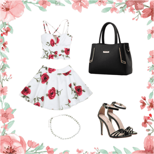 A more formal outfit for summer