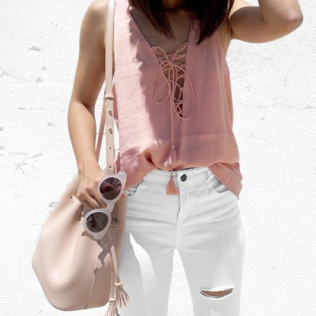 beautiful pink bag!