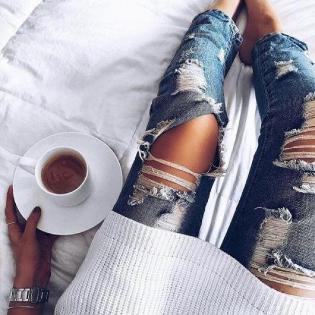 ripped jeans are truly amazing
