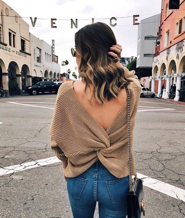 Perfect khaki sweater