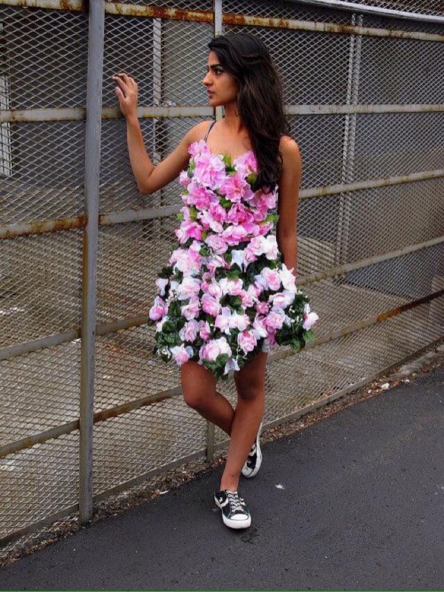 I cant wait for spring and look at these flowers that i got as my dress. Im so excited