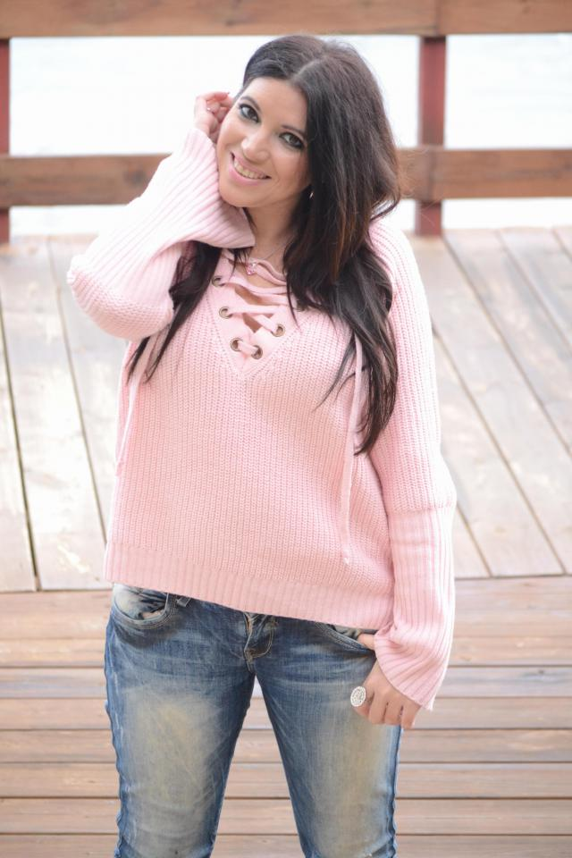 Perfect sweater ! #zme #zaful GIRL #pinkLady #Pink
