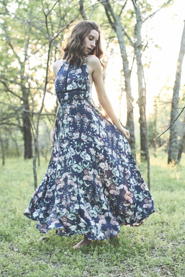 Such a beautiful spring dress! #zafulhits #spring #dress #floral #floraldress