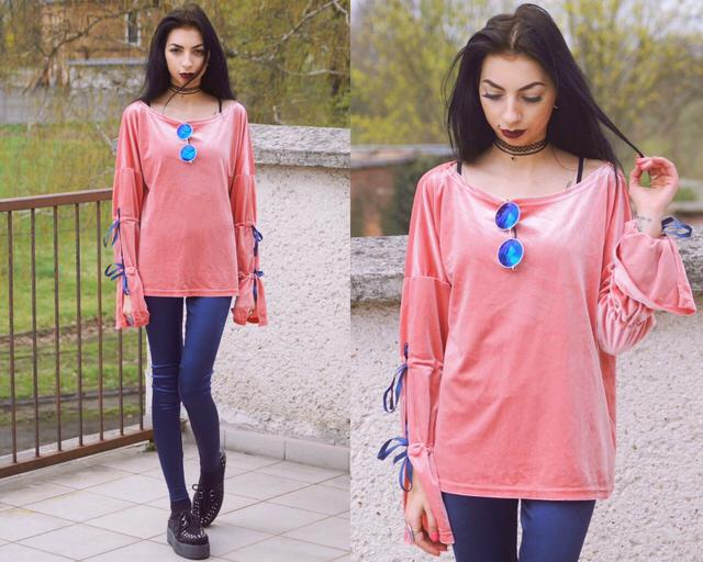 #spring #blog #blogger #outfit #pink #velvet #look #fashion #style