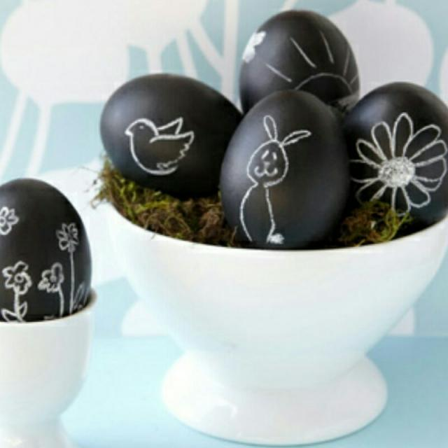 I love Easter and decorating Easter eggs is so much fun