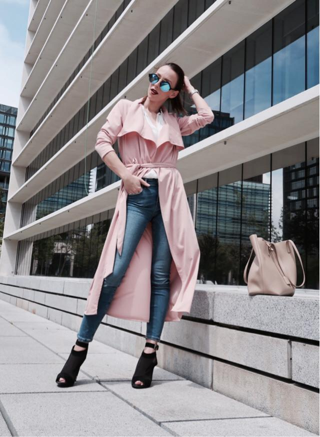 #zafulgirl #zaful #girl #hits #details #ootd #look #style #mood #spring #pink #trenchcoat #love #fashion #despertar