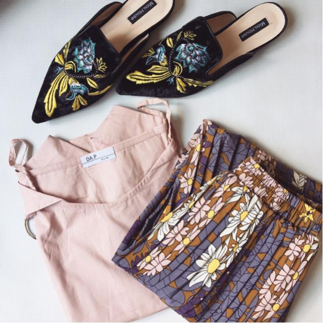 New purchases from Zaful. Floral, pastels and embroidery!