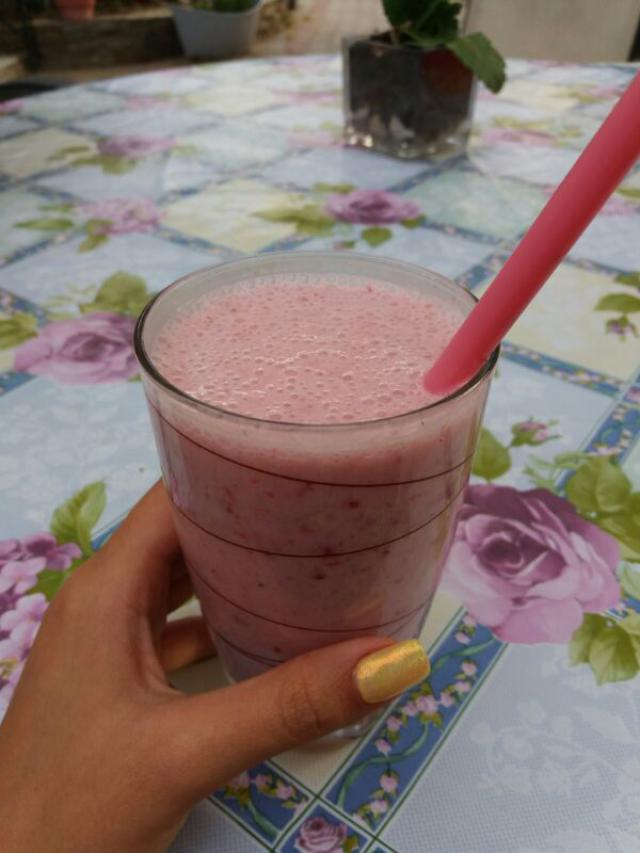 Healthy smoothie for a healthy start