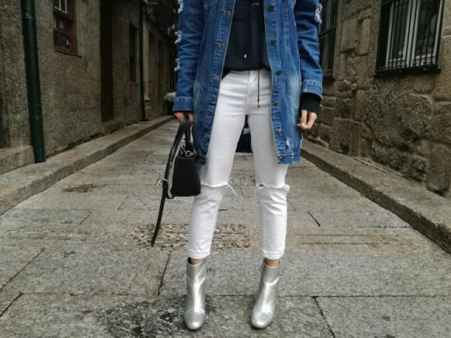 My fav denim jacket ever. One more look on my blog  www.ritissimavida.blogspot.pt @ritissima.blog