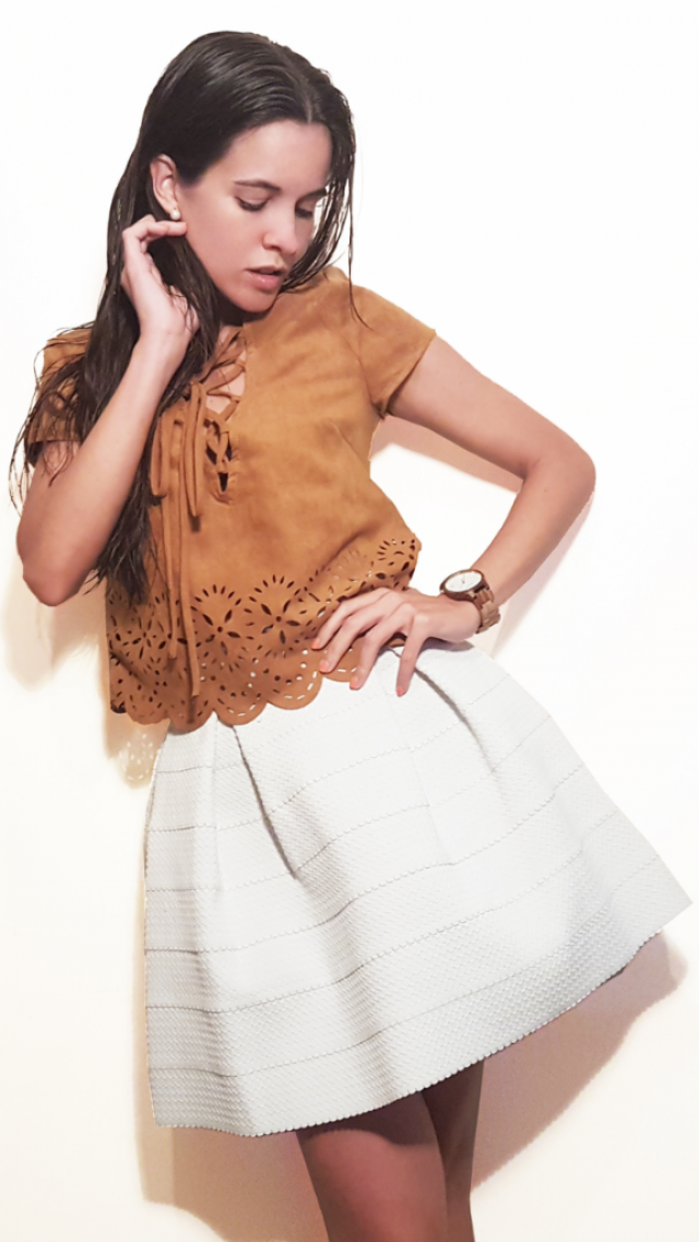 Be trendy, include laser cuts in your outfit! || www.pinmotrlla.com || @pinmorella