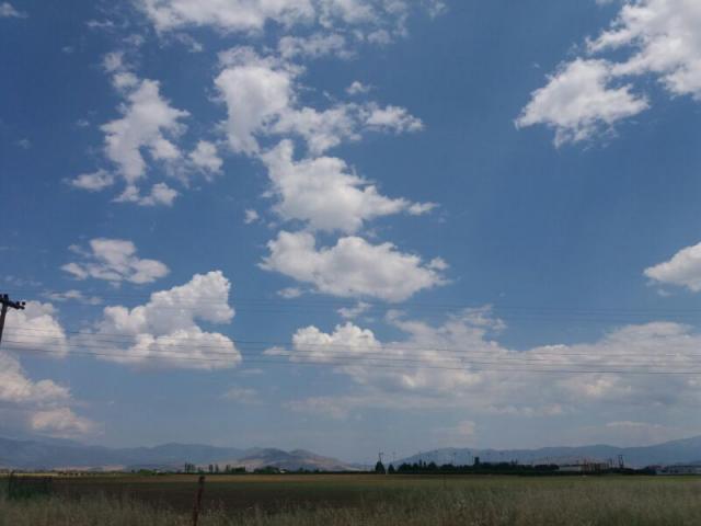Blue sky dont care