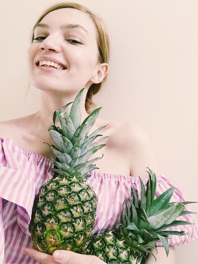 There's no summer without pineapples