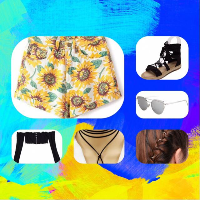 Great outfit for festivals or just to a trip for the beach. #InLove #MayYellow #MaysFaves