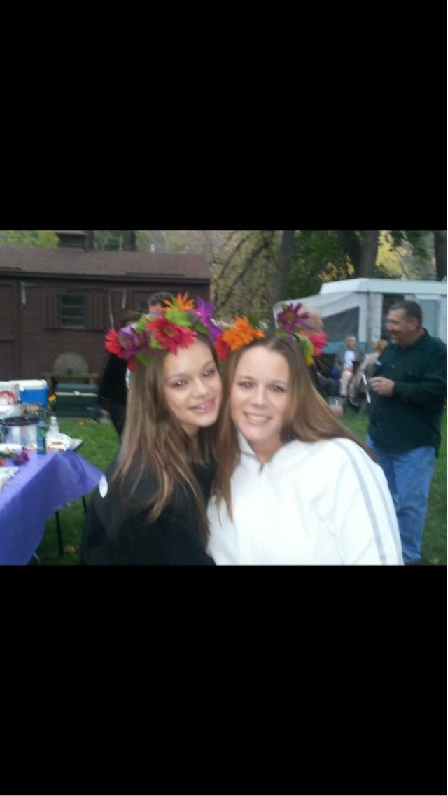 I like to think I'm my moms twin
