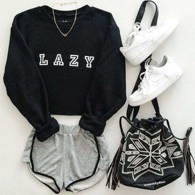 Black sweatshirt is always fits to any situation . #flatlay #sweatshirt