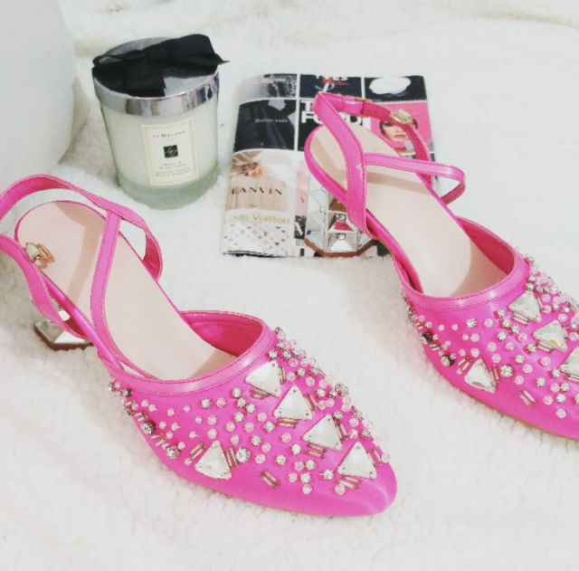 I am a fashion blogger from Israel. I bought this shoe and it is really beautiful and special and reminds me of