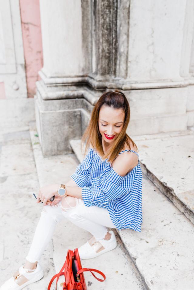 Lovely top! #zafulgirl #zaful #hits #details #top #despertar #blogger #portugueseblog #zme #summer #fashion
