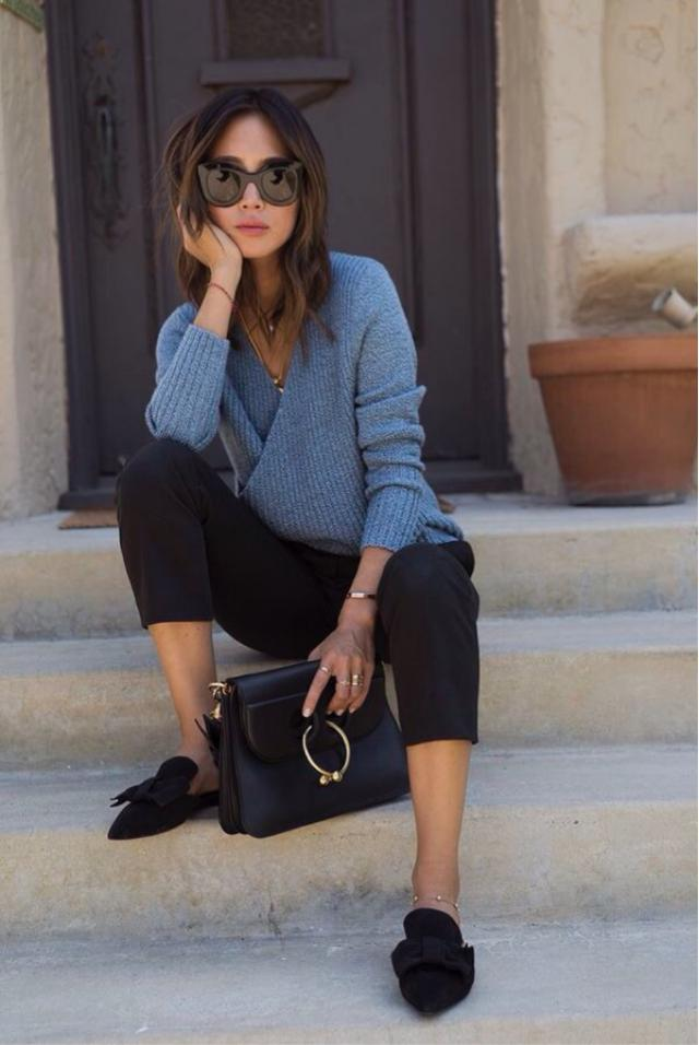 Simple and chic outfit for the work...I'm in love and u? #officelook #style #loveselfie