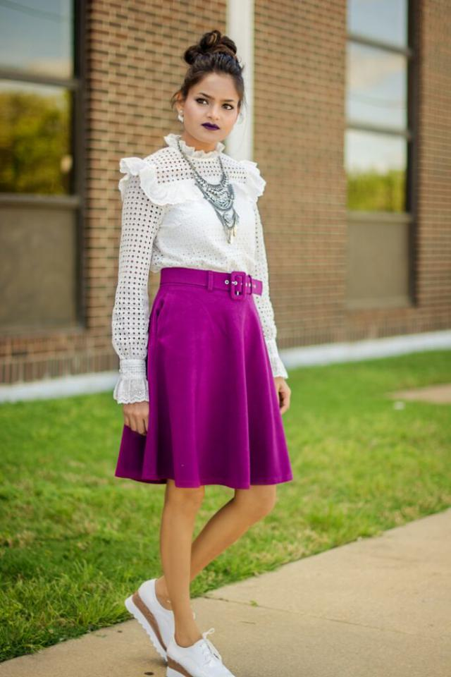 #junepurple #bohovibes #zaful #3anniv #thestyleride gothic inspired look