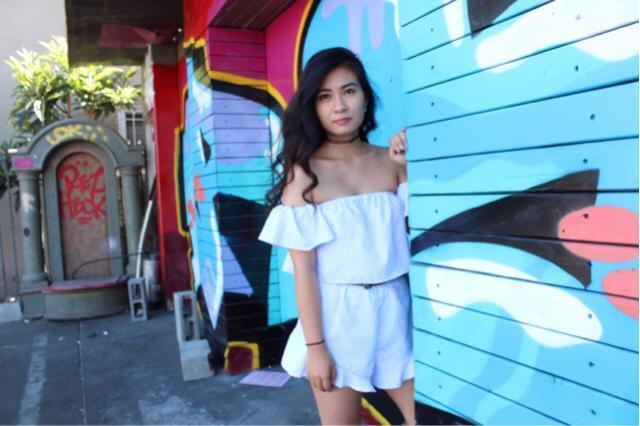 #ootd #outfit #casual #romper #zafulhits #stripes #likeforlike #ttil #summer2017
