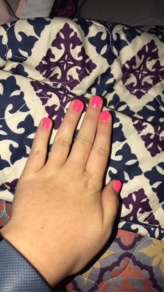 bright pink for summer