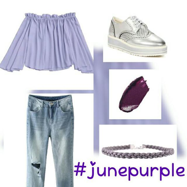 #happy #fashion #purple #outfit #zaful like and comment its free ♡♡♡