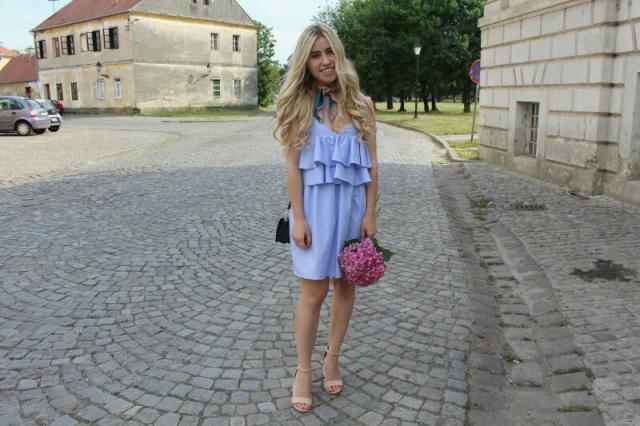 #springbreak2017 #zaful #summerdress #ruffledress #summerparty