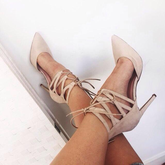 This may be out of stock, but Zaful has alot of perfect heels