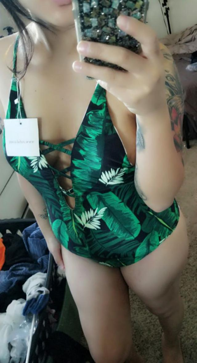 Super cute swimsuit, really wanted to love this one but if you have bigger boobs I wouldn't recommend this one because