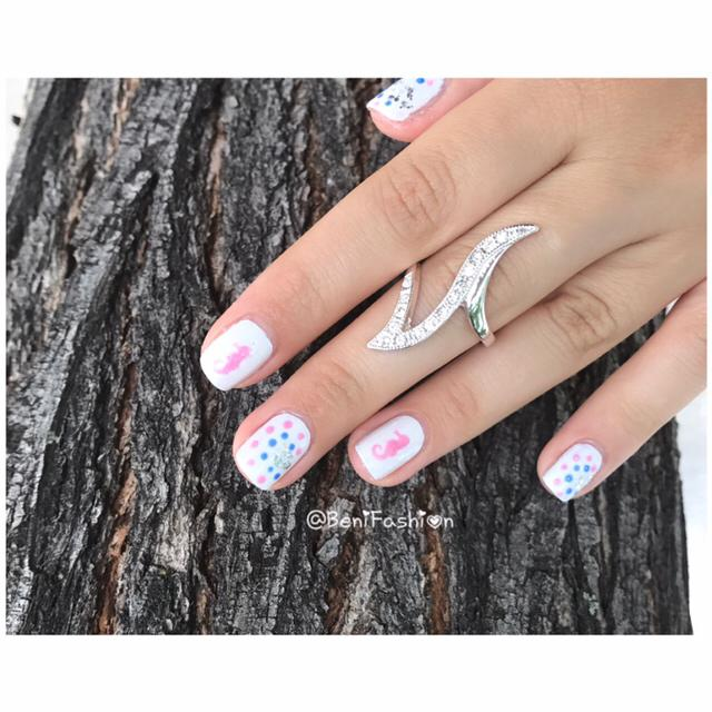 Lovely Nails SeaHorse ✨